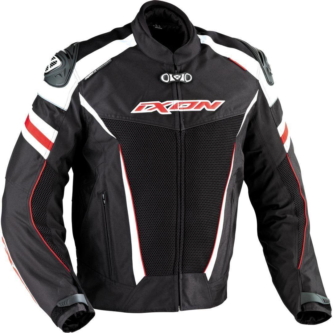 Ixon Typhon Race HP Veste textile Noir Blanc Rouge taille : 2XL
