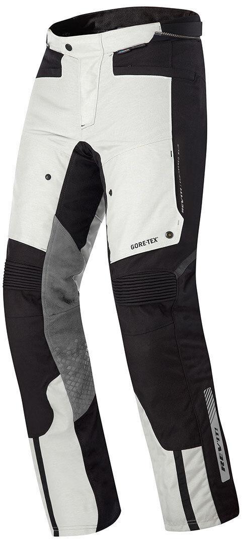 Revit Defender Pro Gore-Tex Pantalon textile Noir Gris taille : S