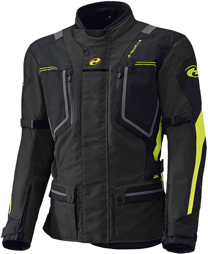 Held Zorro Veste textile Noir Jaune taille : 3XL