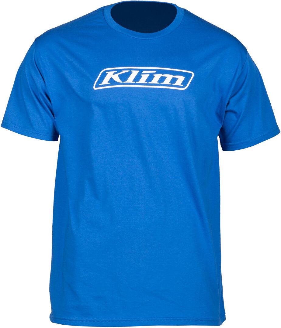 Klim Word T-Shirt Bleu taille : L