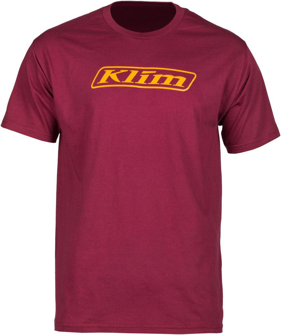Klim Word T-Shirt Rouge taille : L