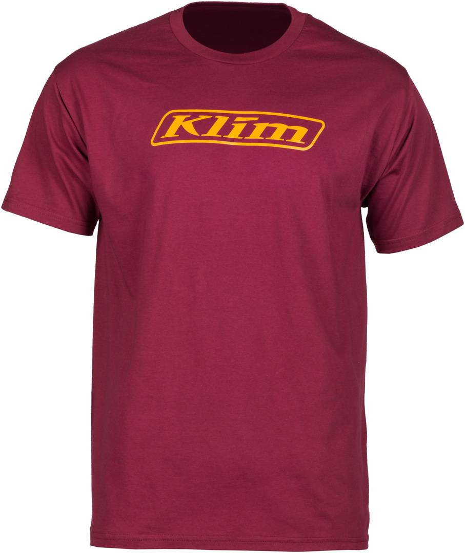 Klim Word T-Shirt Rouge taille : XL