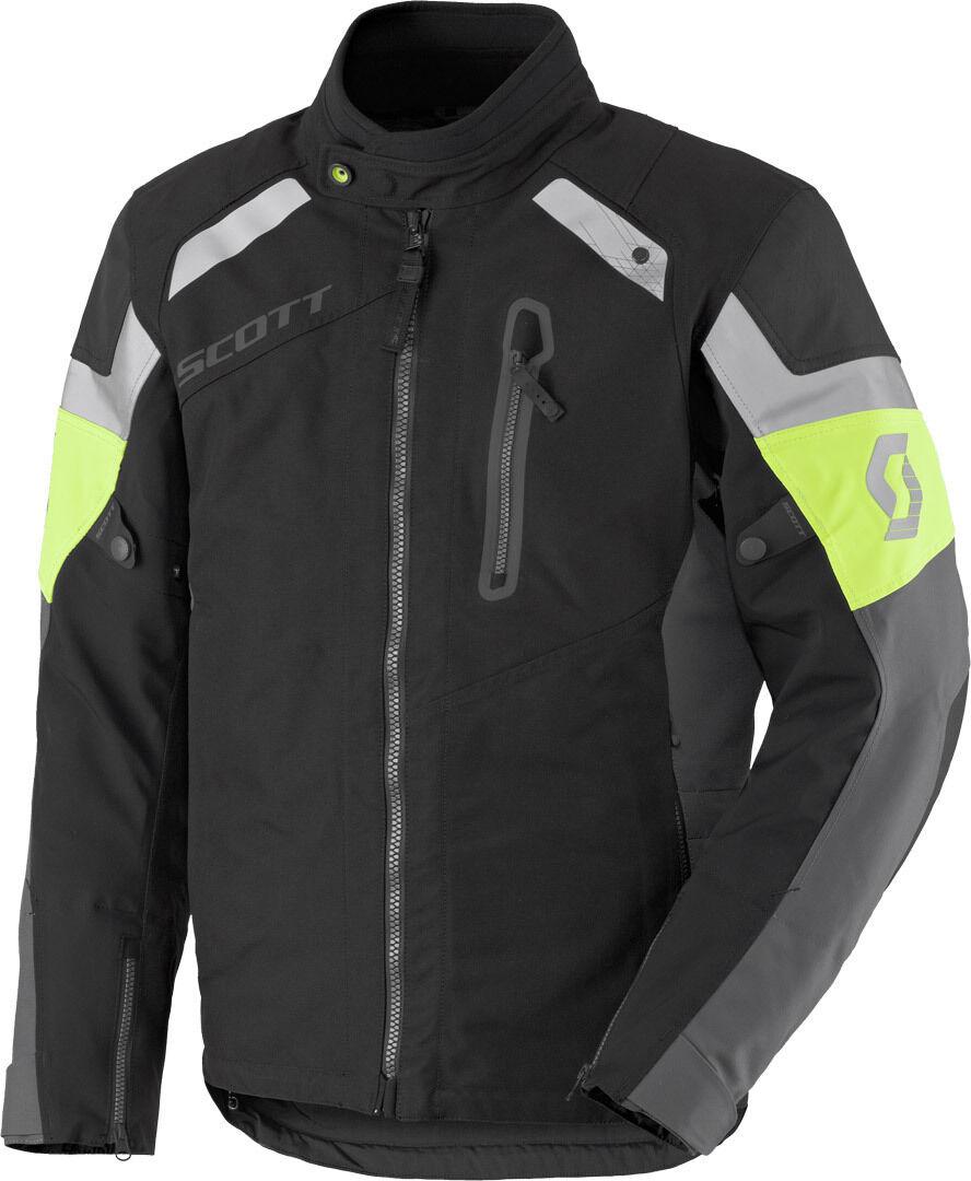 Scott Definit Pro DP Veste textile Noir Jaune taille : XL
