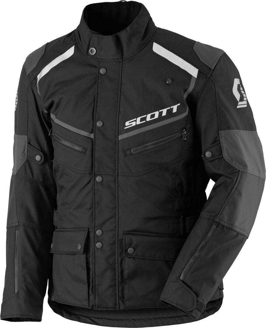 Scott Turn ADV DP Veste textile Noir Gris taille : XL