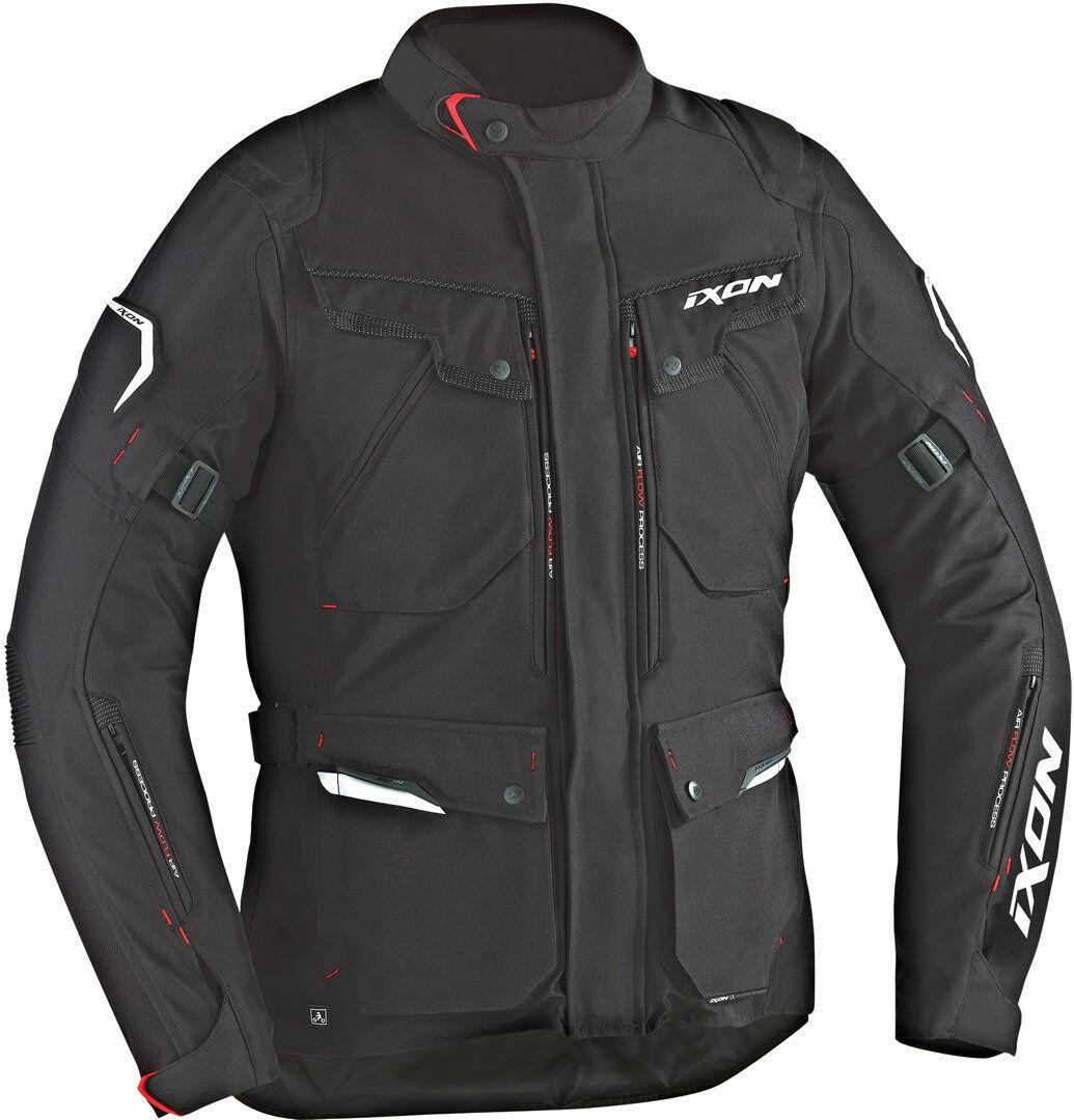 Ixon Crosstour HP Veste Textile moto Noir taille : S