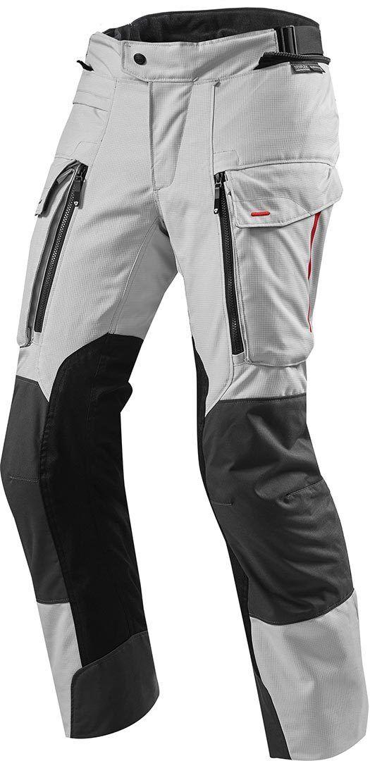 Revit Sand 3 Textile Pants Pantalon textile Noir Gris Or taille : M