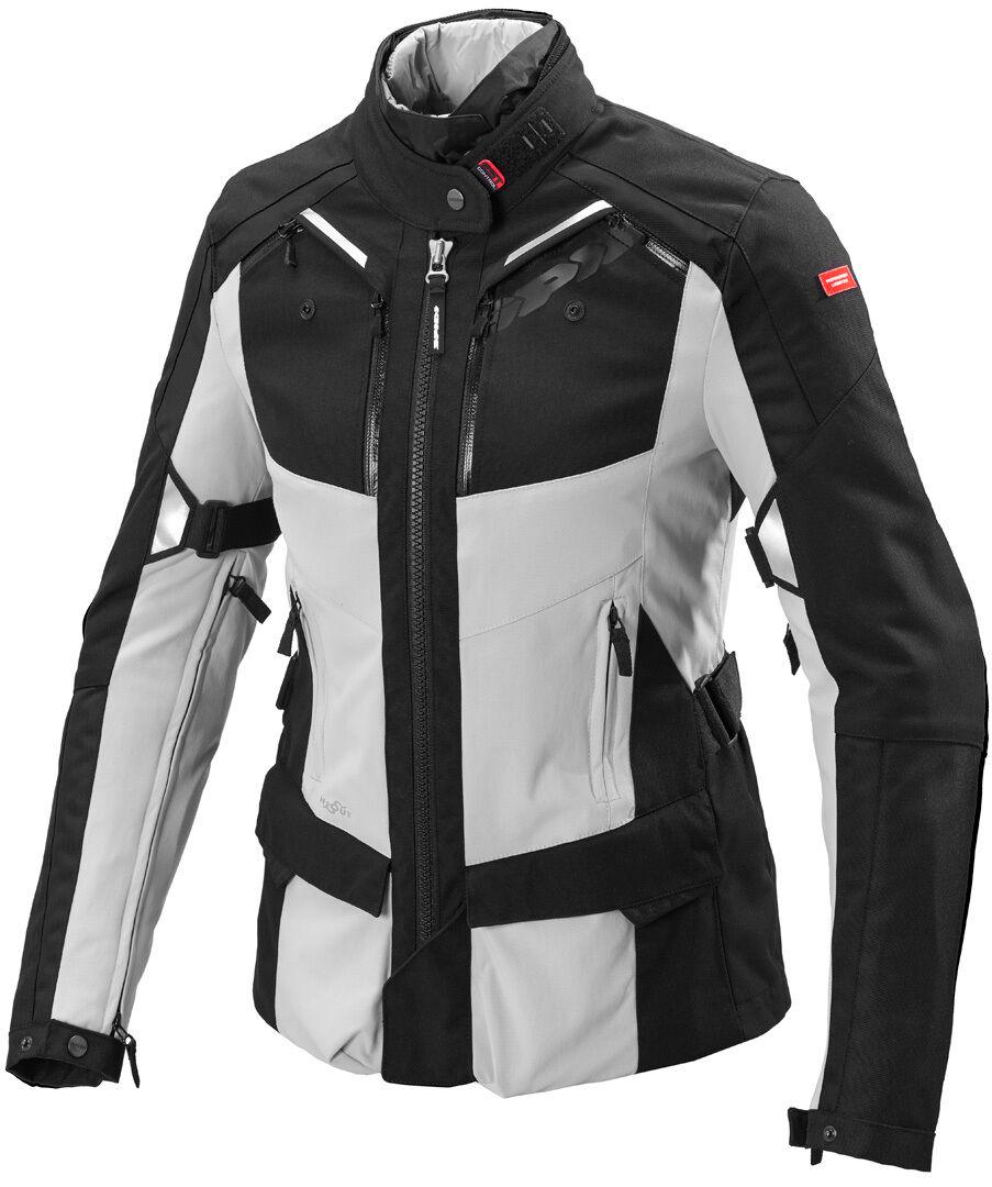 Spidi 4Season Veste textile de moto de dames Noir Gris taille : XL