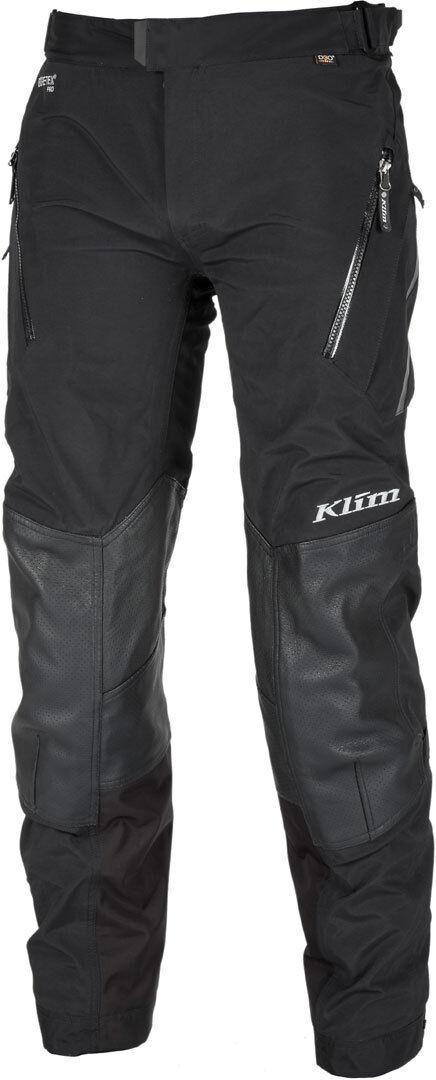 Klim Kodiak Goretex Pantalon textile de moto Noir taille : 54