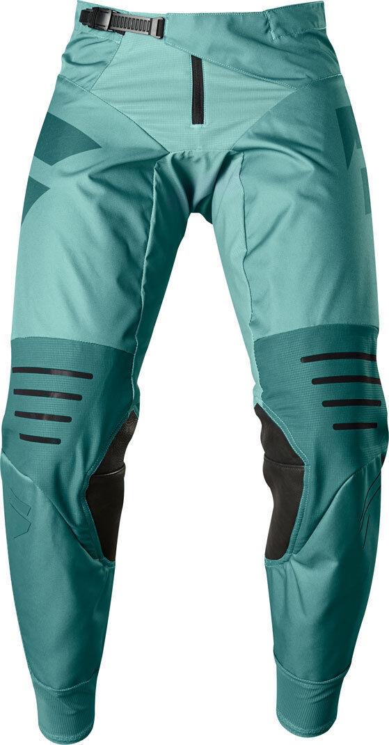 Shift 3LACK Mainline 2018 Jeans/Pantalons Turquoise taille : 28
