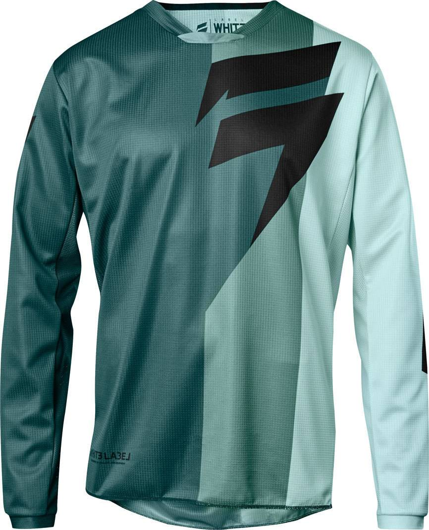 Shift WHIT3 Tarmac 2018 Maillot Turquoise taille : S