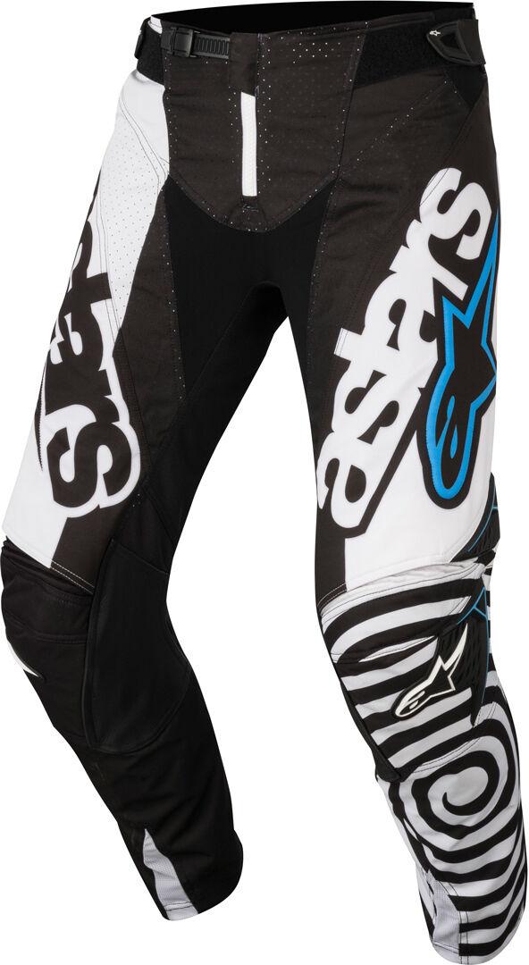 Alpinestars Techstar Venom 2018 Pantalon de motocross Noir Blanc taille : 28
