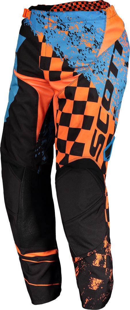 Scott 350 Track Pantalon motocross 2018 Bleu Orange taille : 34