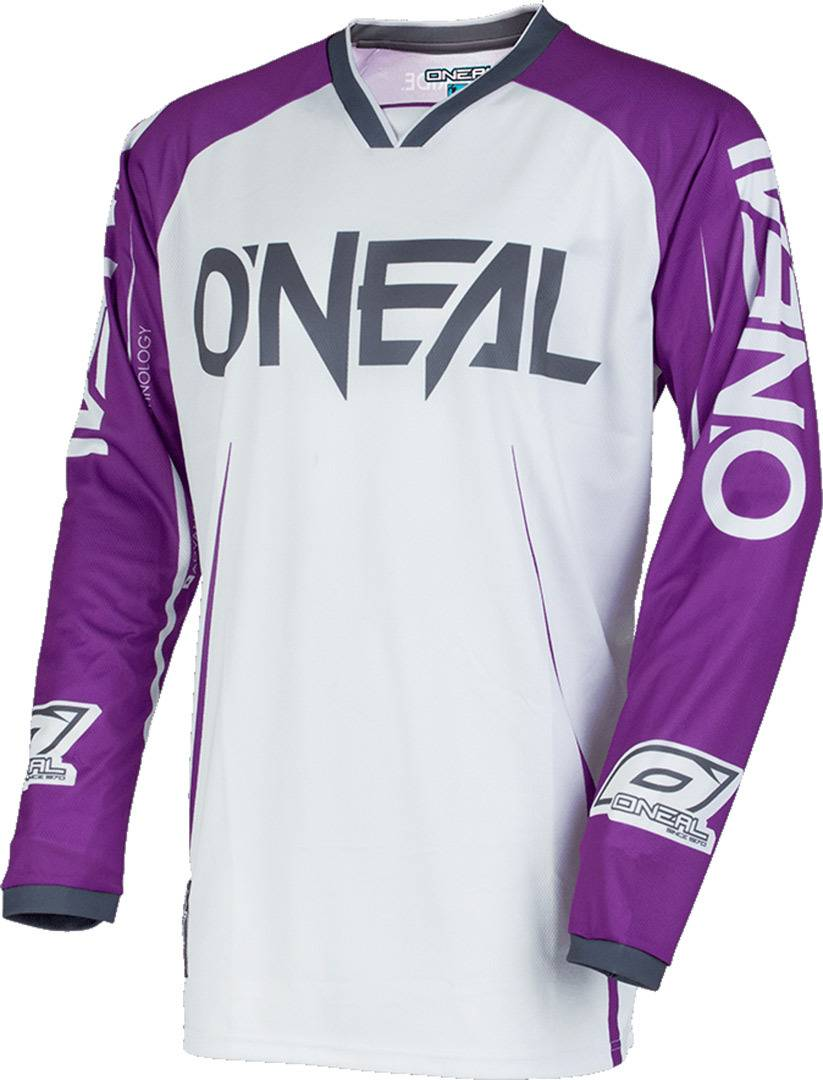 Oneal O´Neal Mayhem Lite Blocker 2018 Maillot Pourpre taille : L