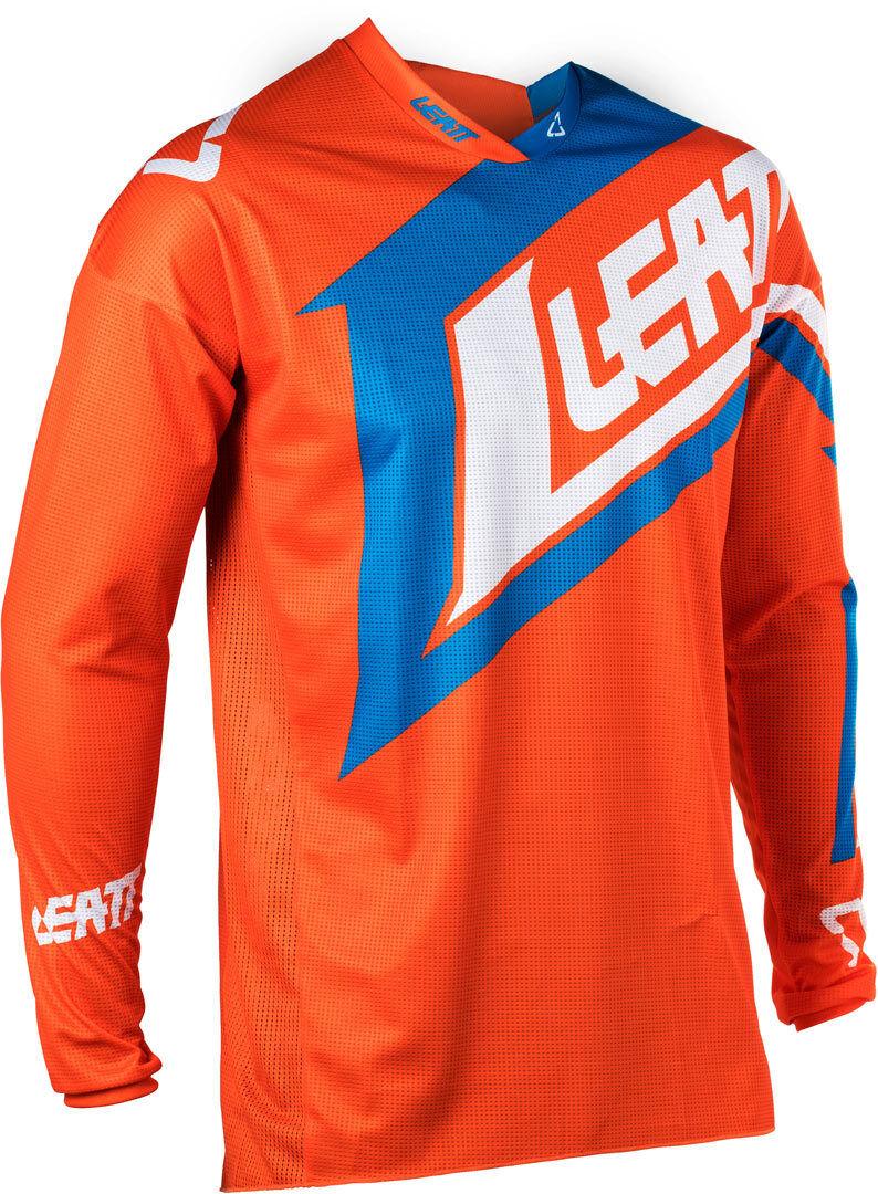 Leatt GPX 4.5 Lite V20 Maillot Bleu Orange taille : L