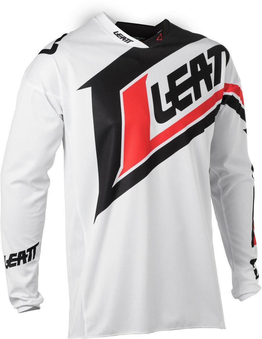 Leatt GPX 4.5 Lite V20 Maillot Noir Blanc taille : XL