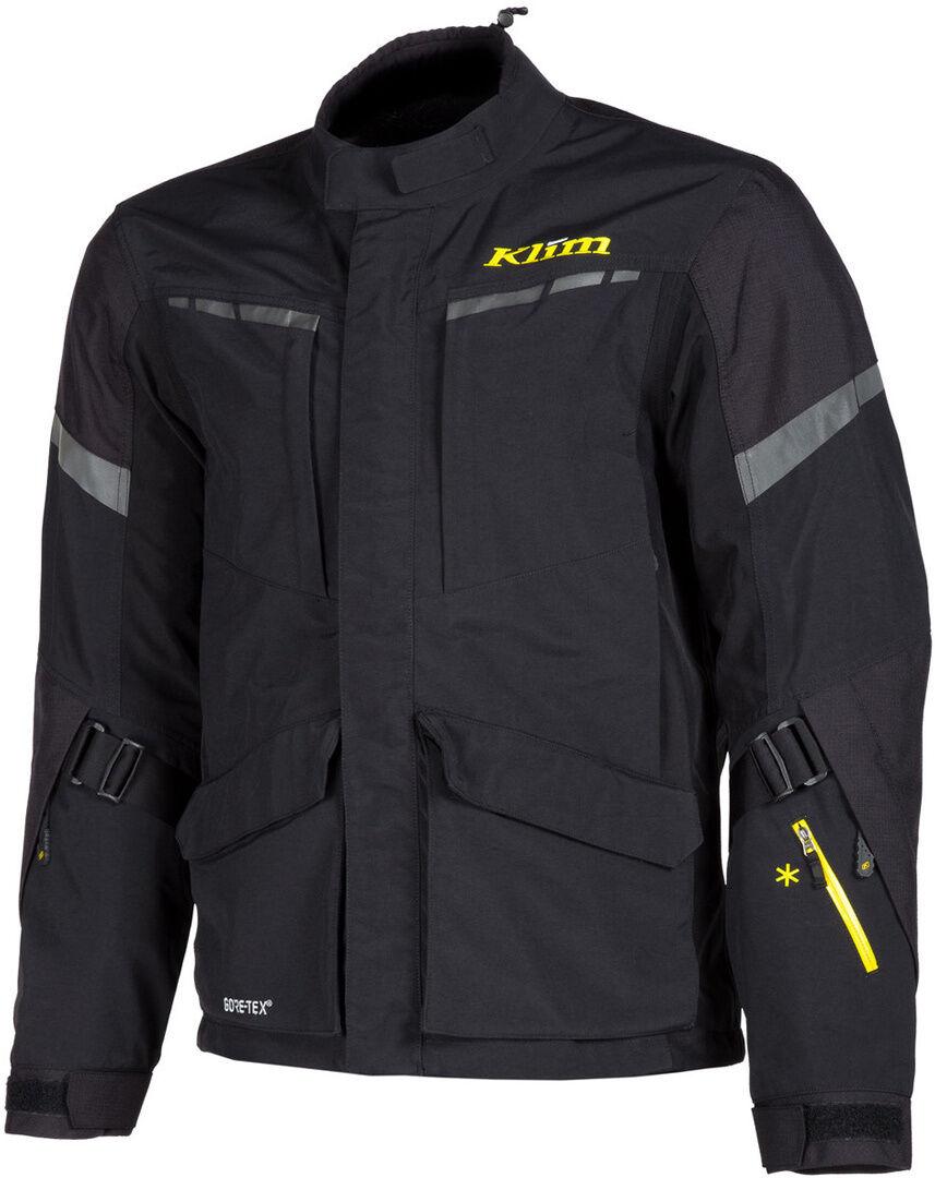 Klim Carlsbad Gore-Tex 2019 Veste textile de moto Noir taille : L