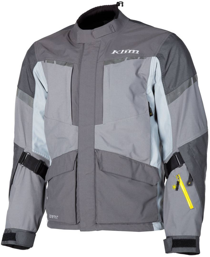 Klim Carlsbad Gore-Tex 2019 Veste textile de moto Gris taille : 2XL