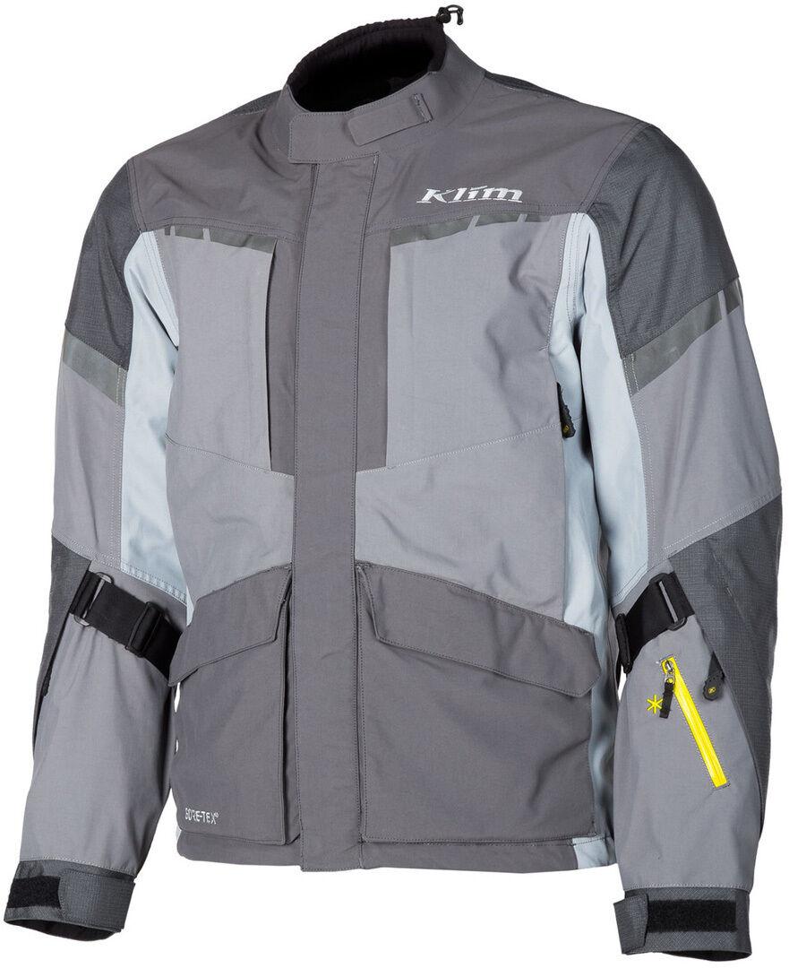Klim Carlsbad Gore-Tex 2019 Motorcycle Textile Jacket Veste textile moto Gris taille : S