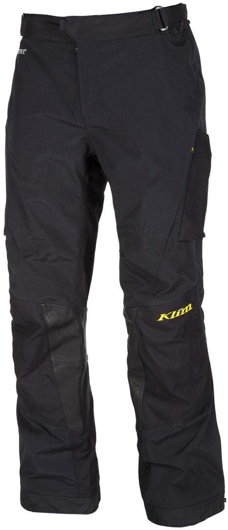 Klim Carlsbad Gore-Tex 2019 Pantalon textile de moto Noir taille : 34