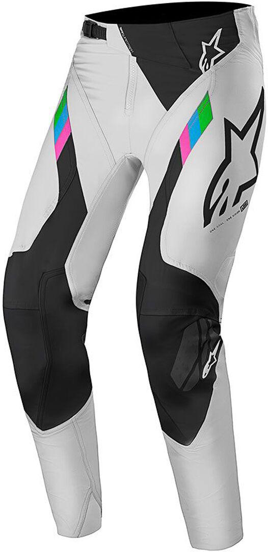 Alpinestars Super Tech Limited Edition Pantalon MX Noir Blanc taille : 30