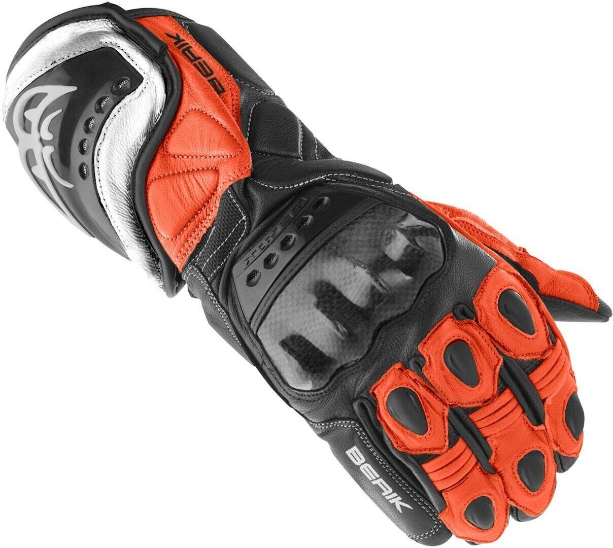 Berik TX-1 Gants de moto Noir Rouge taille : L