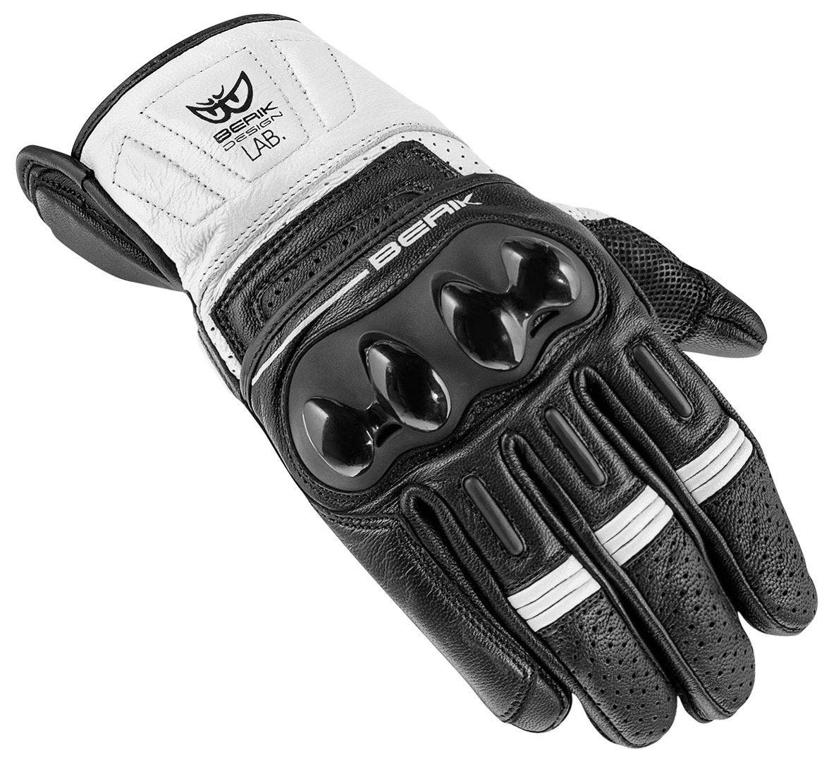 Berik TX-2 Gants de moto Noir Blanc taille : 3XL