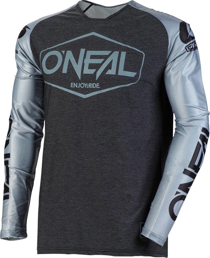 Oneal Mayhem Lite Hexx 2019 Maillot motocross Noir Gris taille : S