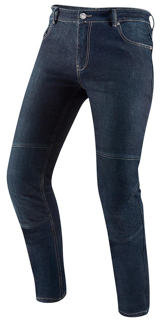 Black-Cafe London Fame Jeans de moto Bleu taille : 33