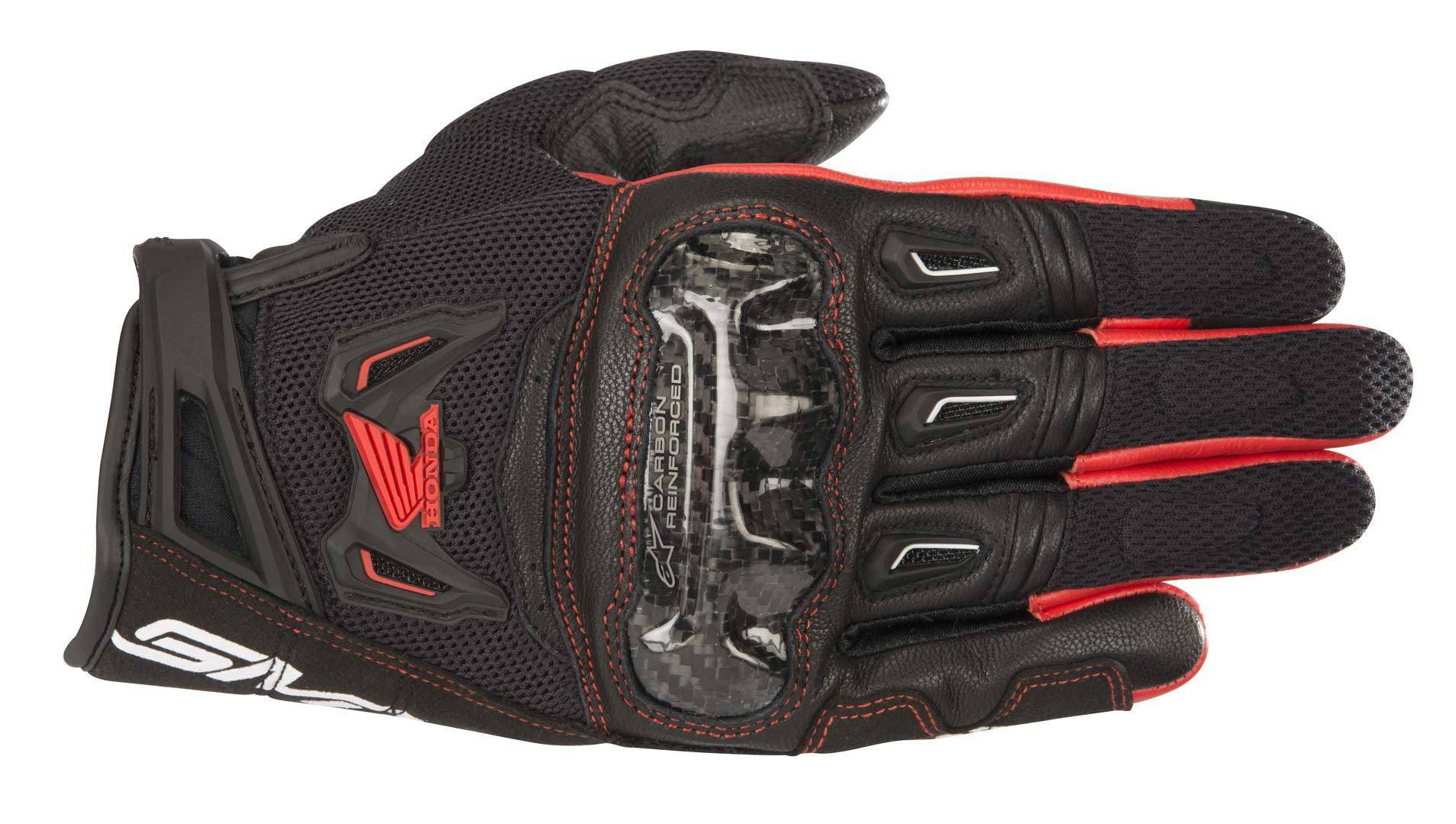 Alpinestars Honda SMX-2 Air Carbon V2 Gants MX taille : 2XL