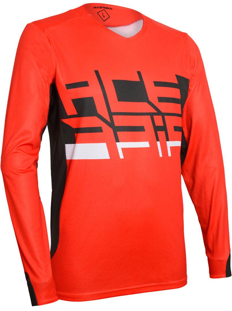 Acerbis LTD Berserkr Maillot Motocross Rouge taille : L