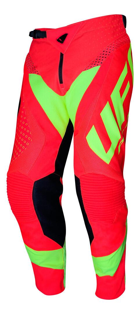 UFO Proton Made in Italy Pantalon de motocross Rouge taille : 54