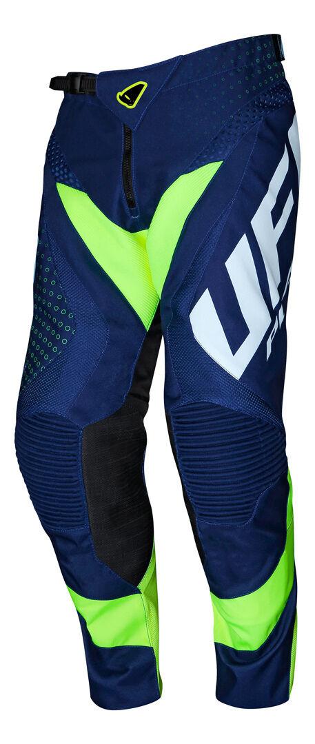 UFO Proton Made in Italy Pantalon de motocross Bleu taille : 50