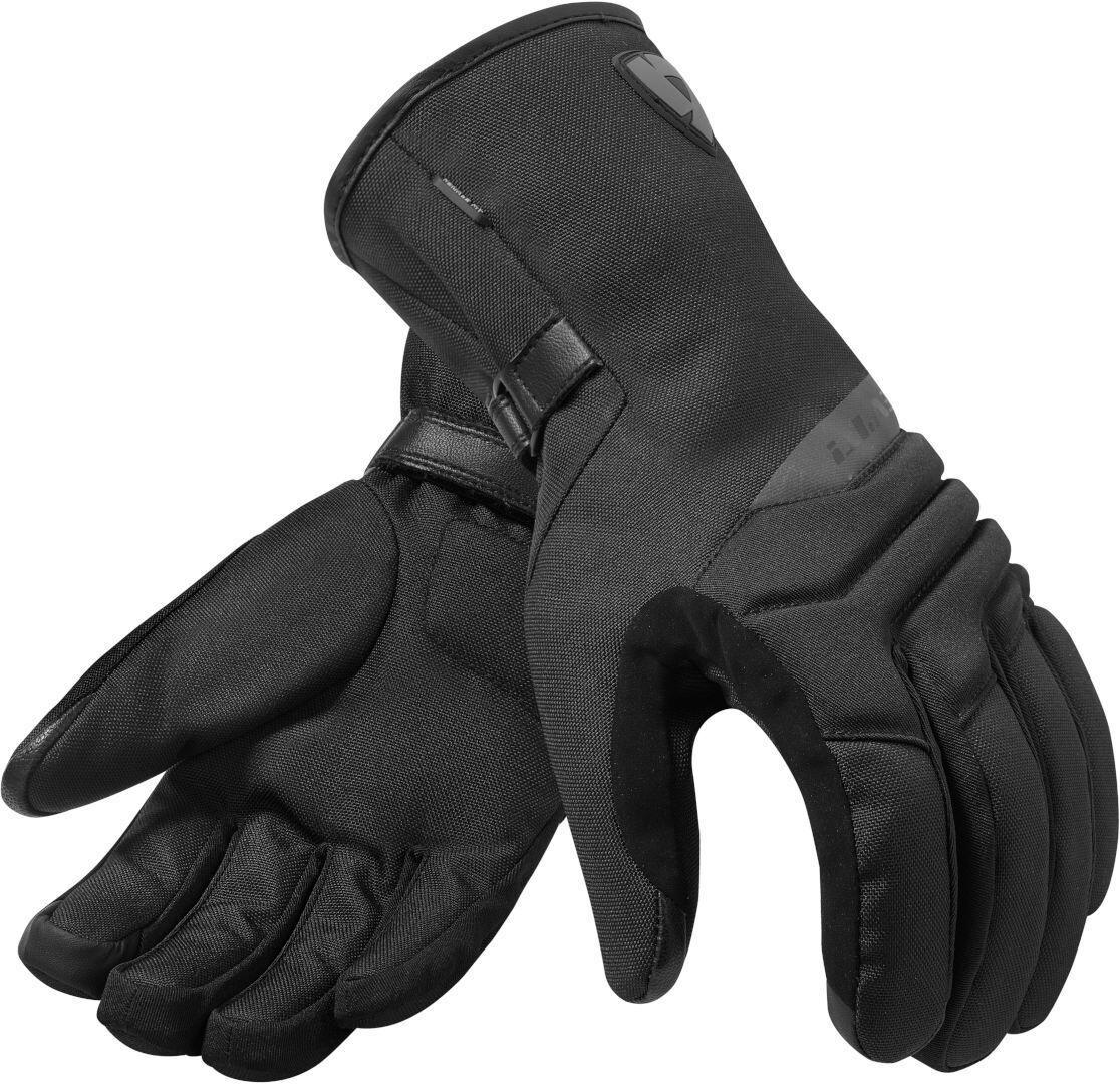 Revit Upton H2O waterproof Mesdames les gants de moto Noir taille : L
