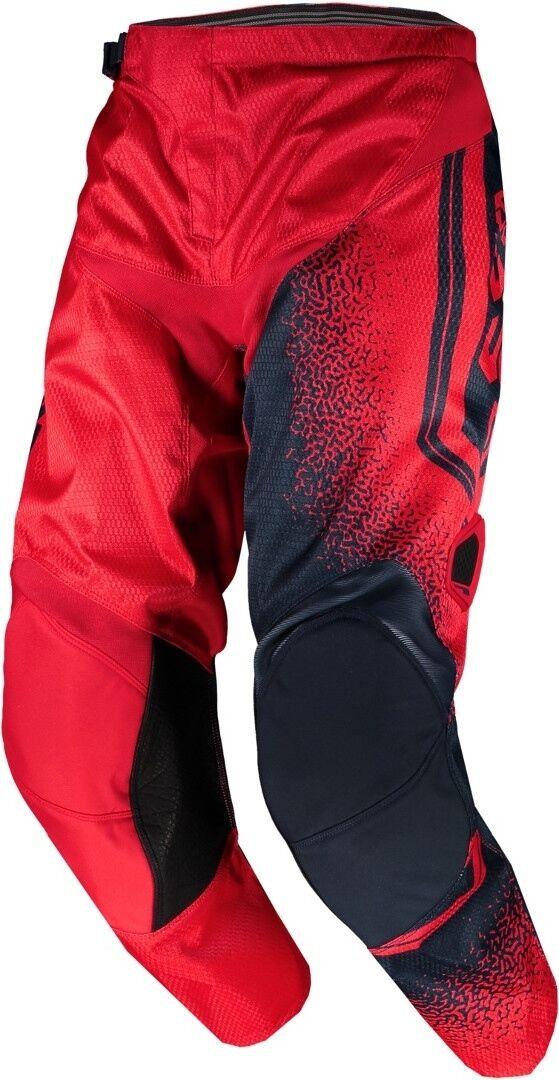 Scott 350 Race Pantalon de Motocross enfants Rouge Bleu taille : M