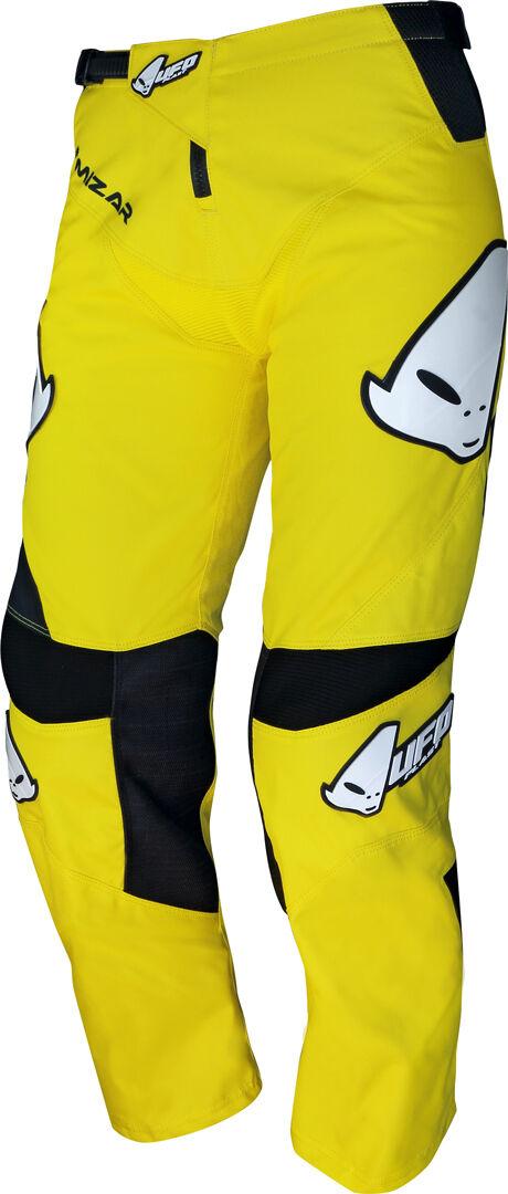 UFO Mizar Pantalon de Motocross enfants Noir Jaune taille : 30
