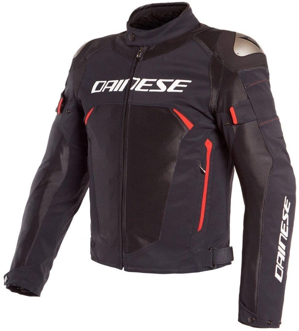 Dainese Dinamica Air D-Dry Veste Textile moto Noir Rouge taille : 50