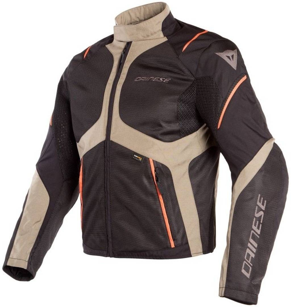 Dainese Sauris D-Dry Veste Textile moto Noir Brun taille : 62