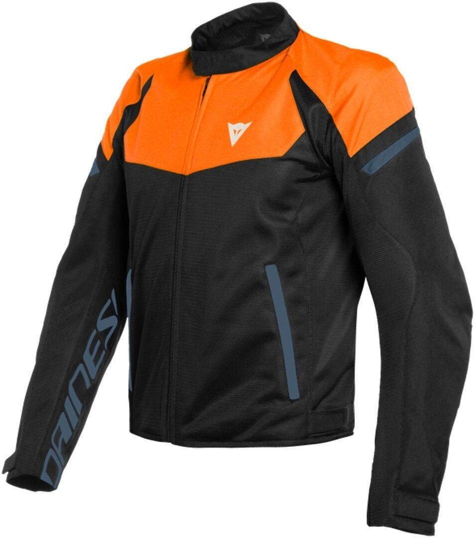 Dainese Bora Air Tex Veste Textile moto Noir Bleu Orange taille : 52