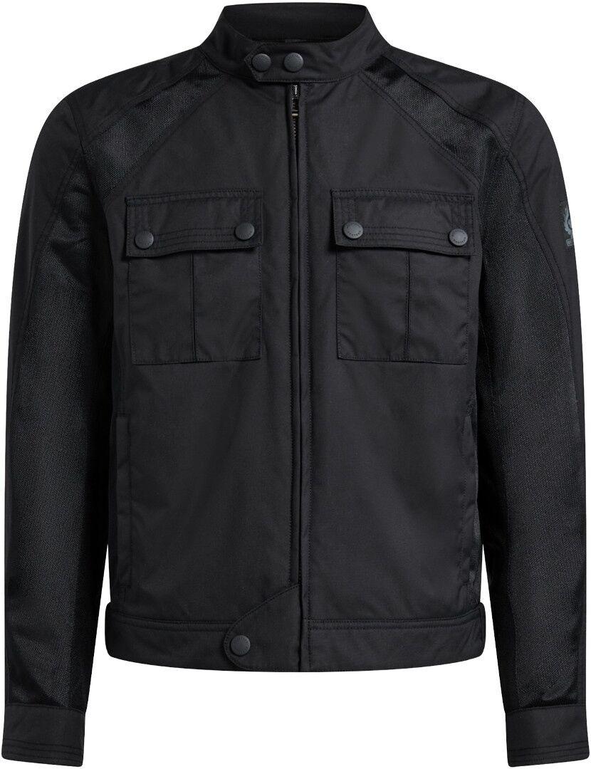 Belstaff Temple Veste Textile moto Noir taille : 2XL