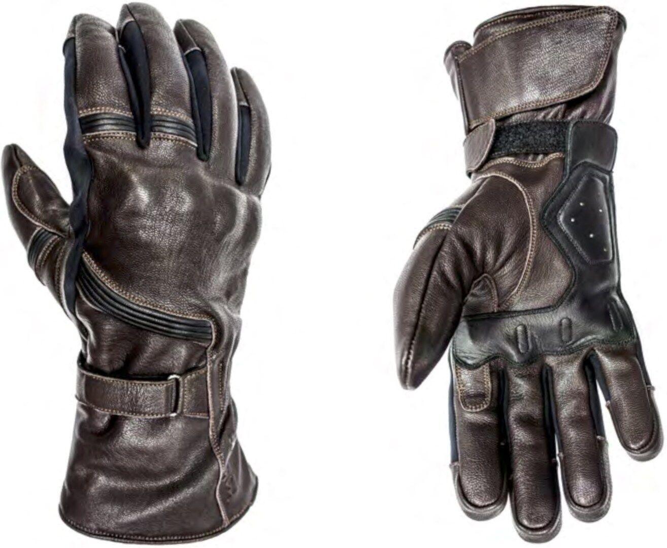 Helstons Titanium Gants de moto hiver imperméable à l'eau Brun taille : 2XL