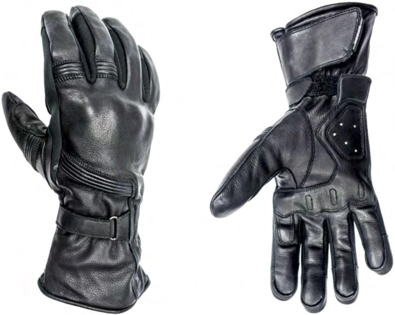 Helstons Titanium Gants de moto hiver imperméable à l'eau Noir taille : XL