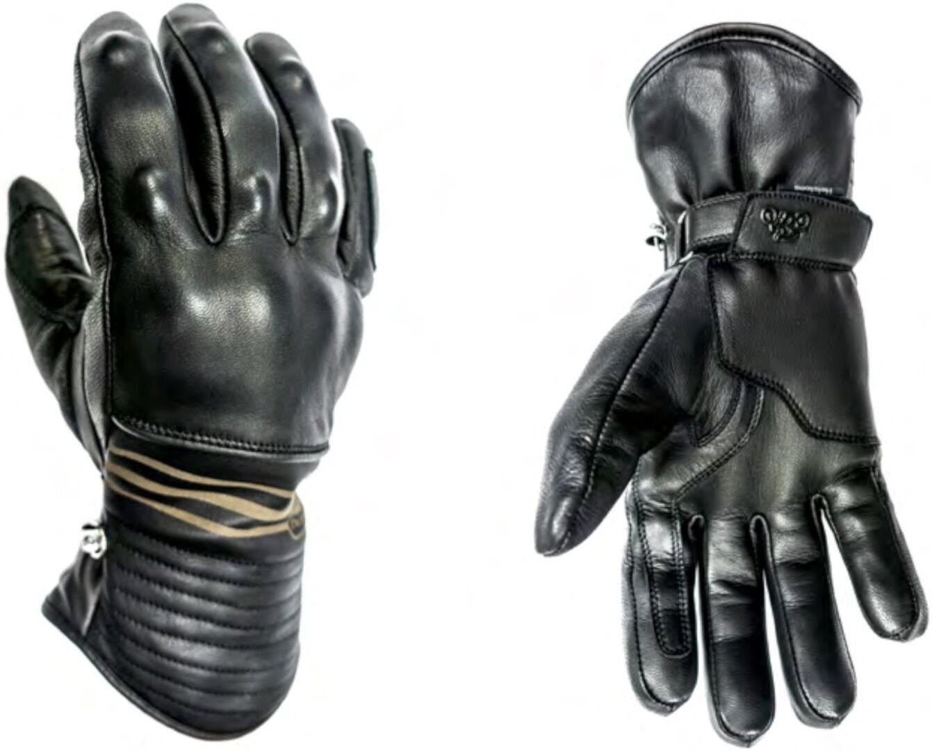 Helstons Rider Gants de moto hiver imperméable à l'eau Noir taille : 3XL