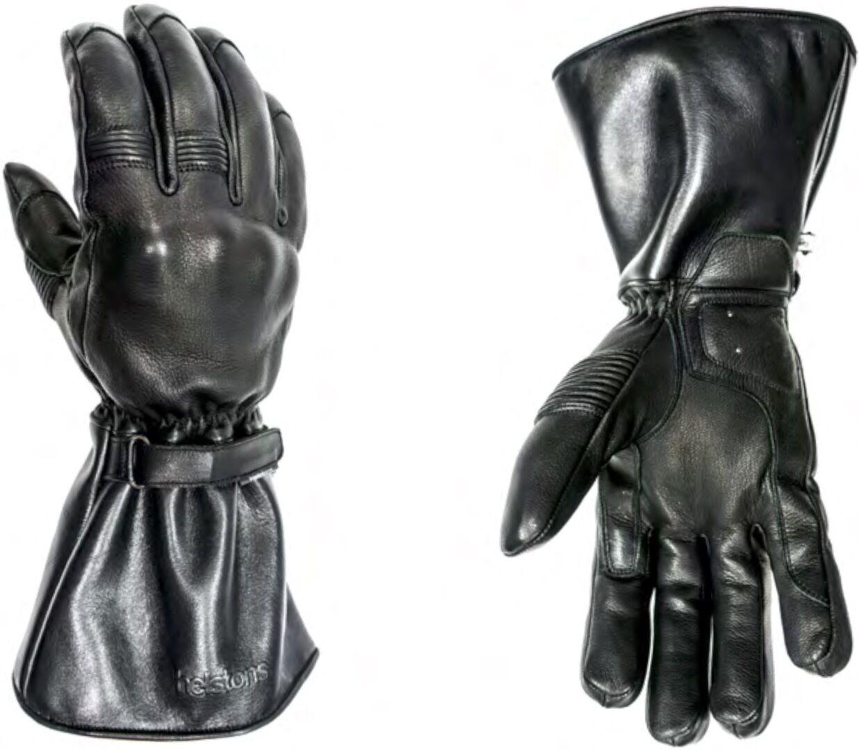 Helstons Challenger Gants de moto hiver imperméable à l'eau Noir taille : 2XL
