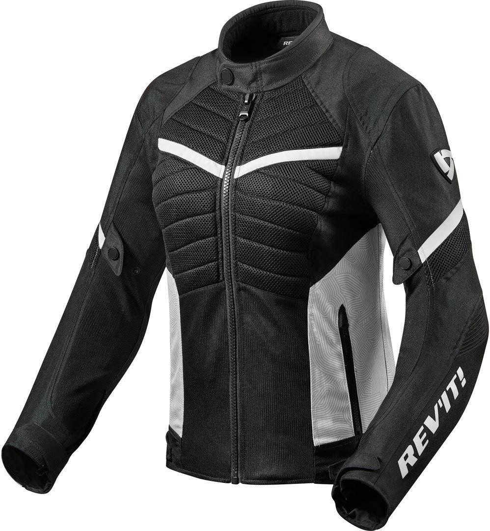 Revit Arc Air Veste de dames moto Textile Noir Blanc taille : 34