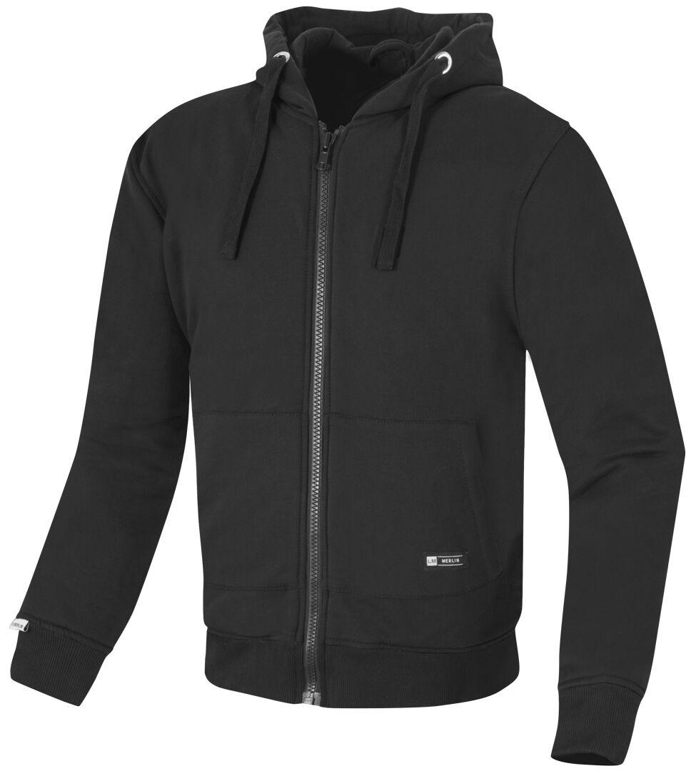 Merlin Hamlin Motorcycle Veste zip hoodie moto Noir taille : XL