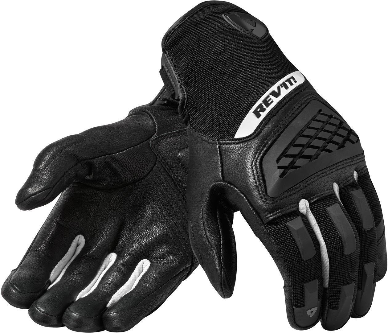 Revit Neutron 3 Gants de motocross Noir Blanc taille : L