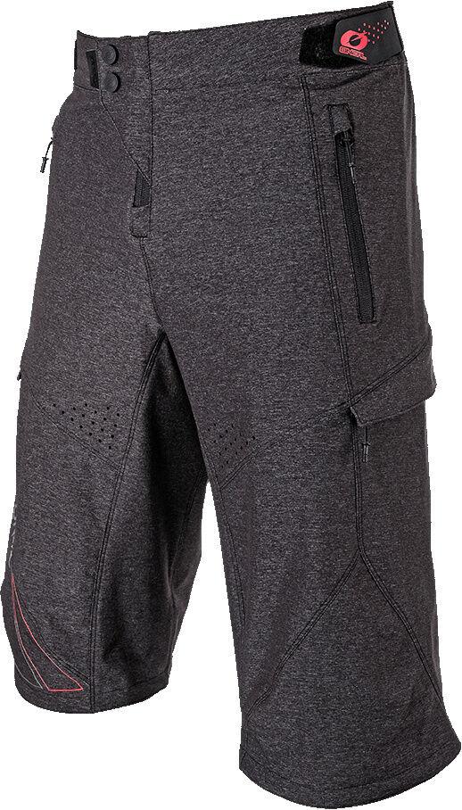 Oneal Stormrider 2019 Shorts de vélo Gris Rouge taille : 34