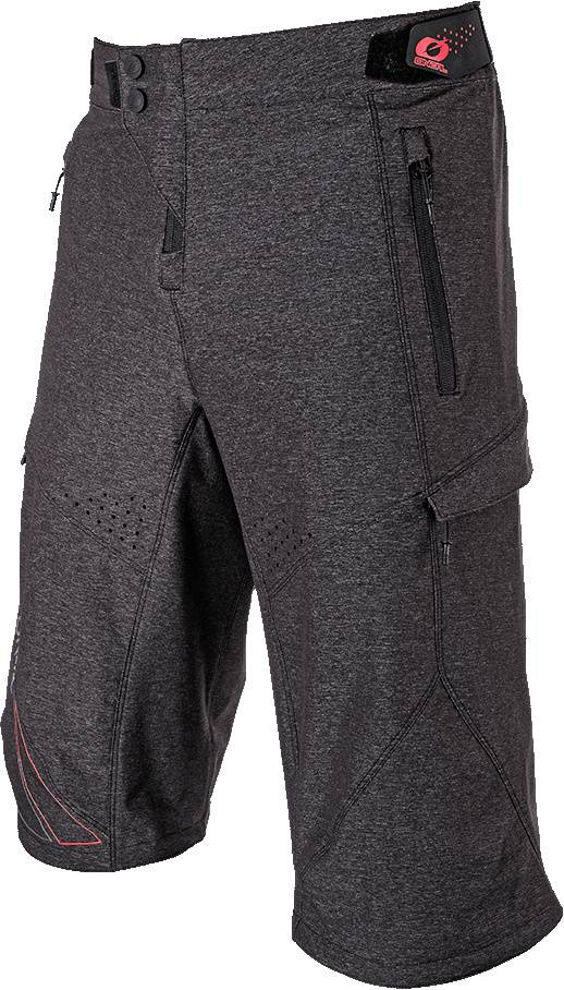 Oneal Stormrider 2019 Shorts de vélo Gris Rouge taille : 28