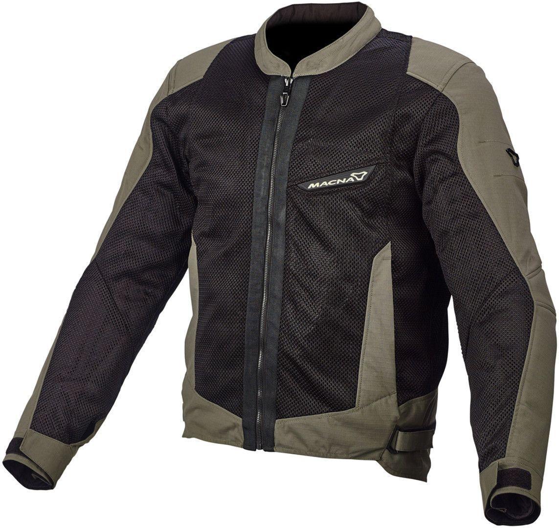 Macna Velocity Veste Textile moto Noir Vert taille : L