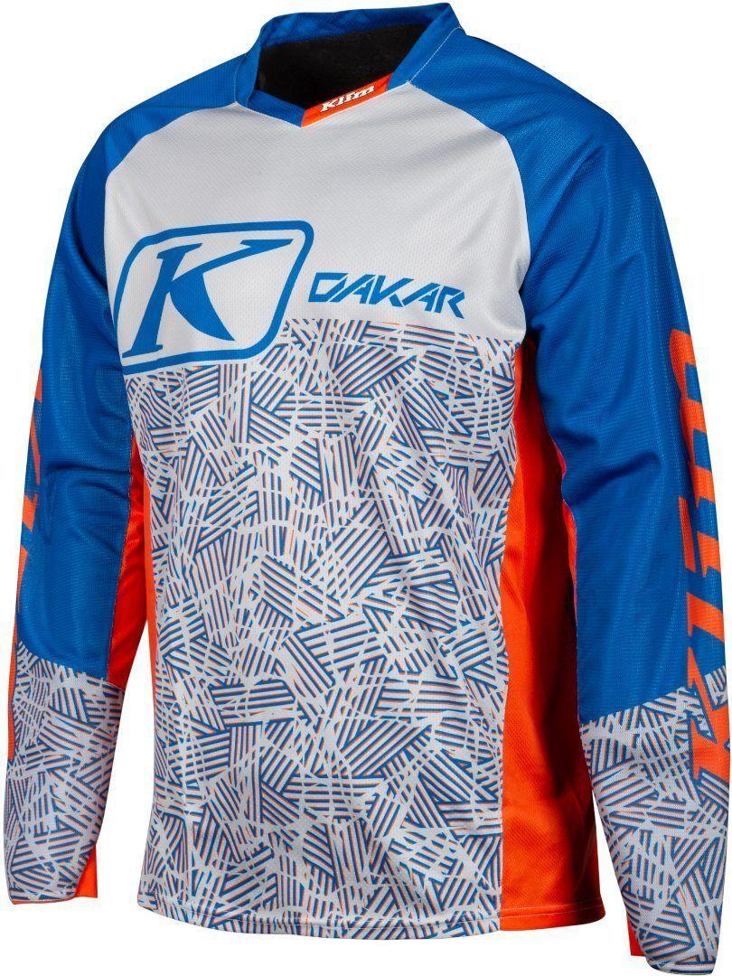 Klim Dakar 2019 Maillot Motocross Bleu Orange taille : S